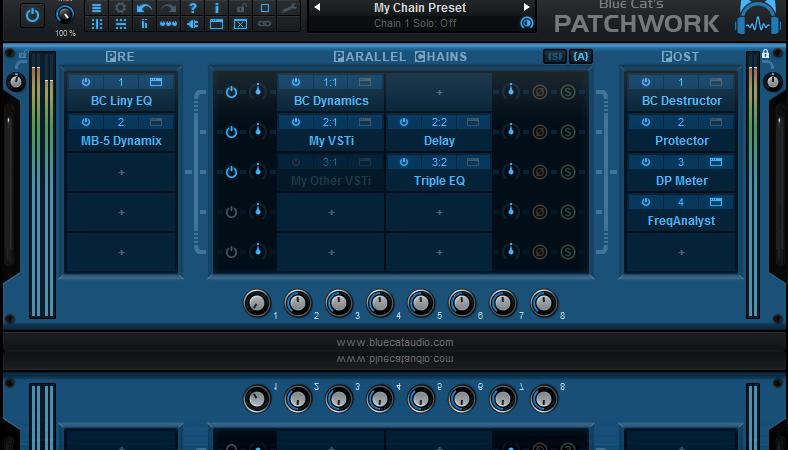 Blue Cat's PatchWork v2.42 Crack Full Version 2020 Free Download
