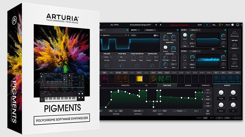 Arturia Pigments Crack v2.0.0 Full Latest Version Free Download