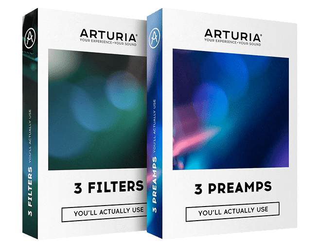 Arturia 3 Filters & 3 Preamps Crack Free Download