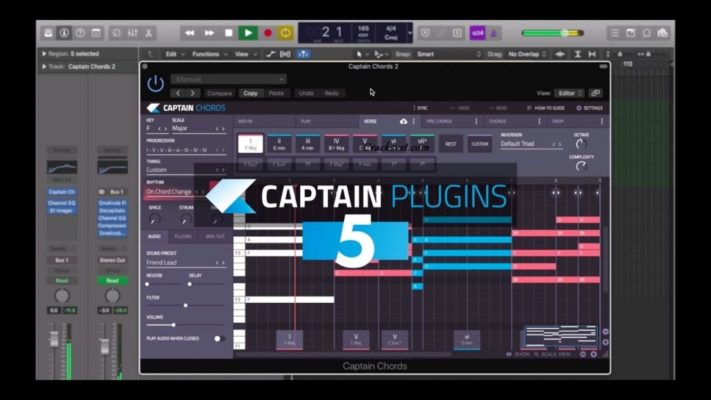 Captain Chords 5.1 Crack + Torrent VST Mac Download [2021]